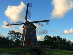 The Old Windmill (Clare-White) Tags: sky building nederlands windmill