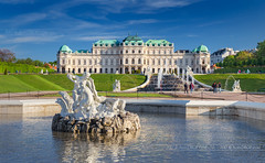 _MG_0372_web - Upper Belvedere (AlexDROP) Tags: 2017 vienna wien austria österreich travel architecture sunset palace color city wideangle urban daytime scape landmark canon6d ef16354lis historicalplace best iconic famous mustsee picturesque postcard hdr