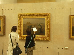 Millet, The Gleaners, the Orsay (William Allen, Image Historian) Tags: paris france art painting orsay millet 19c thegleaners
