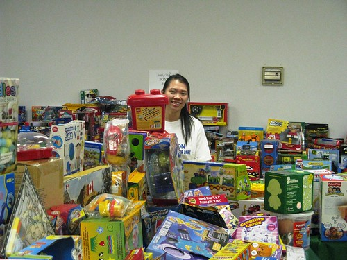 Peel Children's Aid Holiday Toy Room