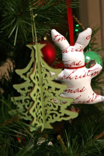2009 bunny ornament
