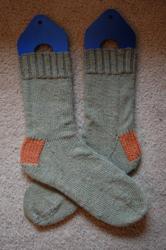 FO: Josh's Christmas socks