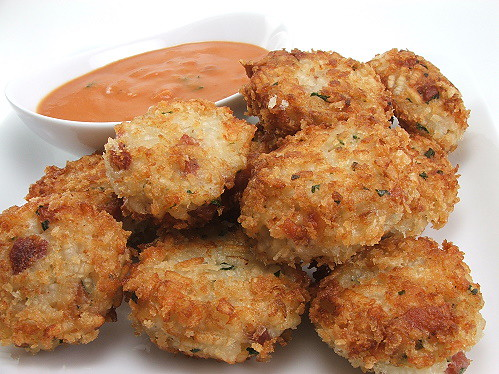 Pancetta Risotto Cakes