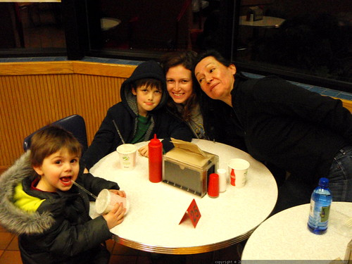 celebrating aunt megan's birthday at burgerville - PC270048