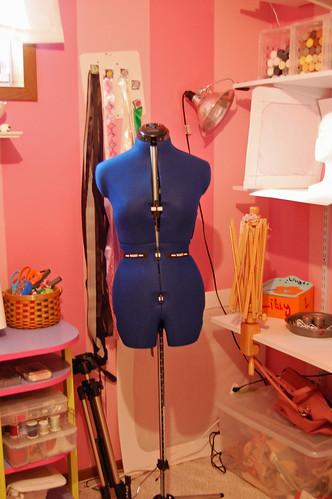 Christmas Dress Form 01