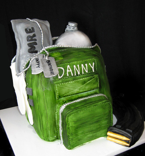 army pack cake
