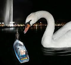 Le Consuelo à Genève (JMVerco) Tags: photomanipulation creative création creazione jmlinder
