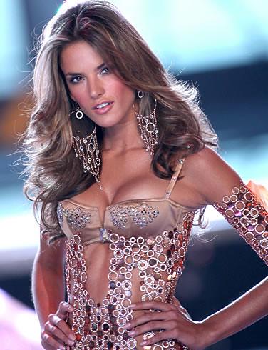 Brazilian supermodel Alessandra Ambrosio