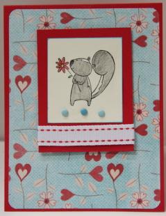 Valentine skunk