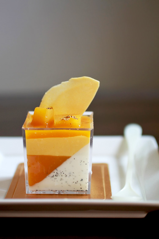 Mango Panna Cotta Verrines | Evan's Kitchen Ramblings