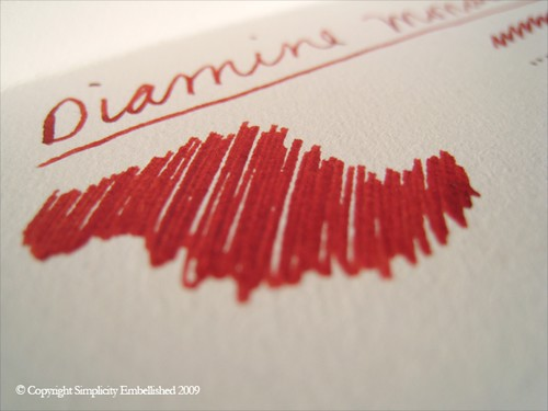 Diamine Monaco Red