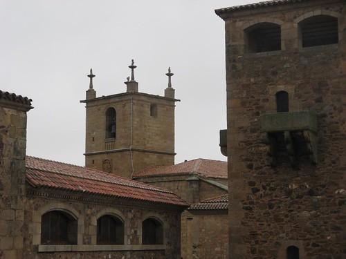 Cidade velha de Cáceres, Espanha; Dezembro 2009