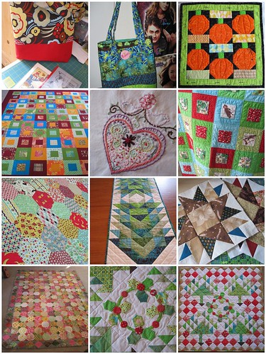 A Year of Quilting & Sewing