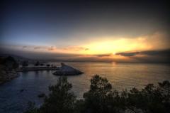 Marseille Sunrise (marcovdz) Tags: sunrise marseille hdr corbire 3xp
