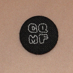 gqmf9 (anonymityblaize) Tags: startrek crossstitch geek badge button gqmf
