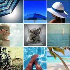 Things I  Thursdays: Blue summer... (Fabiana Gauto Photography) Tags: blue summer fdsflickrtoys verano ohmmmm mosaicos veranoazul mosaiks bluesummer necesitovacacionesya playaplayaplayaplaya