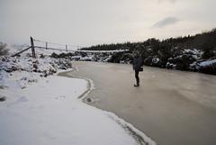 Strathy_Scotland_168 (jjay69) Tags: christmas xmas uk bridge winter england snow cold ice water river outdoors scotland frozen stream frost britain freezing freeze wellingtonboots wilderness sutherland icicles frozenriver deepsnow strathy walkingonice icewalk northernscotland solidice