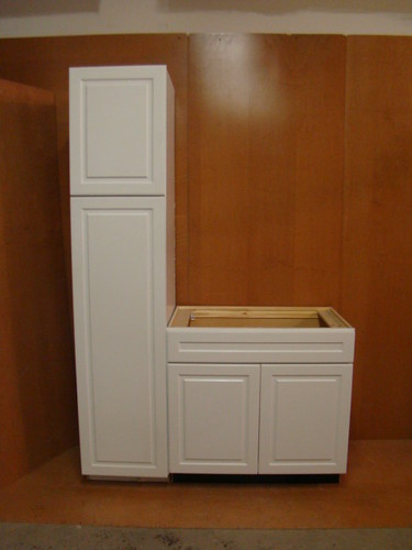 details about kraftmaid white bathroom vanity sink base cabinet set