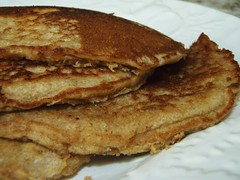 whole wheat pancakes - 23