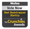 Crunchies 2009 Finalist for Best Bootstrapped Startup