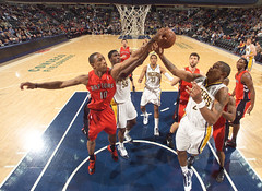 Jan. 11/10 - Raptors vs Pacers (Raps Fan) Tags: usa toronto unitedstates indianapolis indiana raptors pacers in