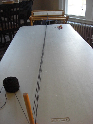 Direct Warping the Rigid Heddle Loom