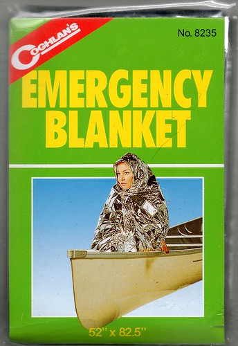 emergency blanket by coghlan's