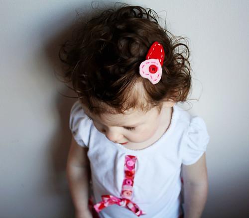 Heart Hair Clip