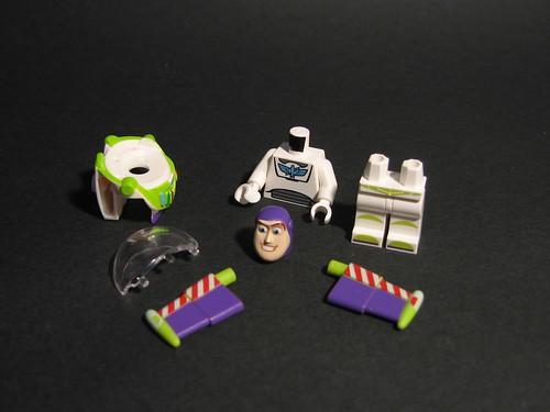 Buzz Lightyear Minifig Parts