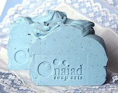 Kind of Blue (naiadsoaparts) Tags: blue soap handmade limitededition coldprocess