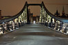 Eiserner Steg Frankfurt (Specialized29) Tags: city longexposure bridge winter night river lights nikon nacht frankfurt main tripod sigma nightlife brücke beleuchtung steg ffm stativ 2870 eiserner d300s nightfotography