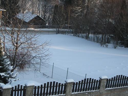 Winterlandschaft in Eichgraben am 20.12.2009