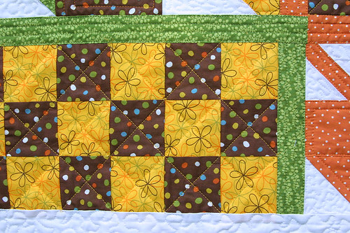 Fall Inspired Quilt Detail