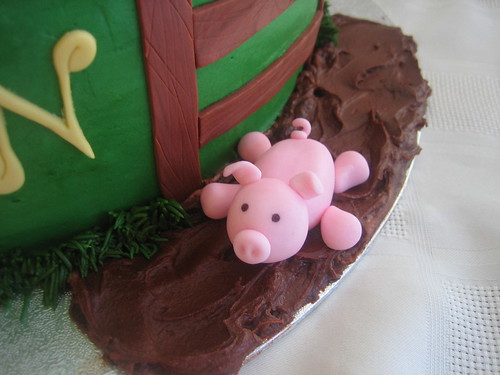 Farm Birthday Cake
