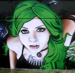 London (SmugOne) Tags: uk england urban woman london art english girl wall tattoo lady female ink painti