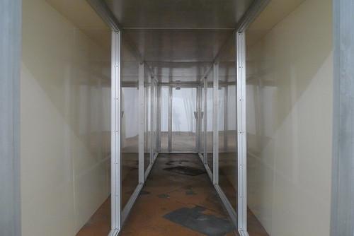 Christo Corridor Store Front, 1967 et dessin de projet, 1964 -1965 - Mamco Geneve - Janvier 2010