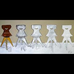 _fading (l--o-o--kin thru) Tags: painting chair bild vreden stuhl 2010 stuehle gemlde ubenkede
