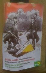 Plakat der Grünen Dortmund zum Sozialticket