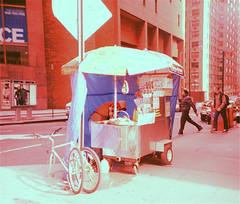 NYC Jan '10  - 08 (ohjaygee) Tags: nyc winter urban usa newyork lomo lca lomography slidefilm crossprocessing americana nophotoshopping xprocessing dontthinkjustshoot shootfilm nolooking ordinariness nooyorick suburbanity olomomanhattan