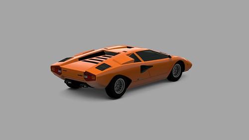 GT PSP - Lamborghini Countach par PlayStation.Blog.Europe