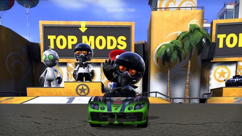 Modnation Racers Beta