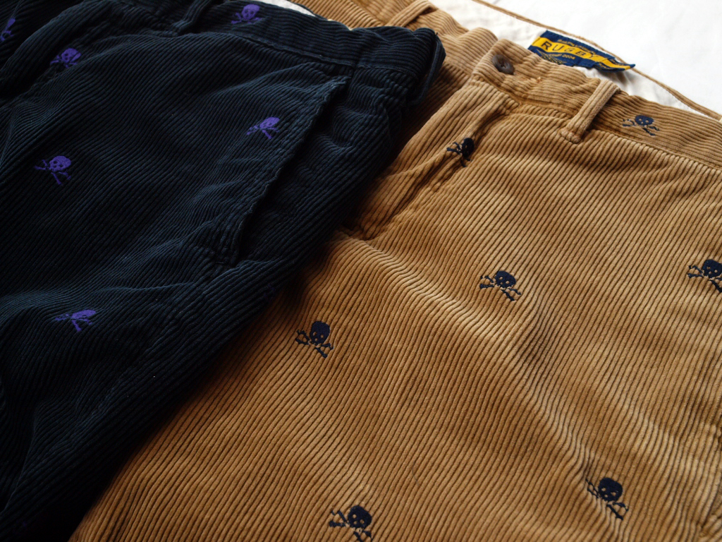 Rugby / University Skull Corduroy Pant