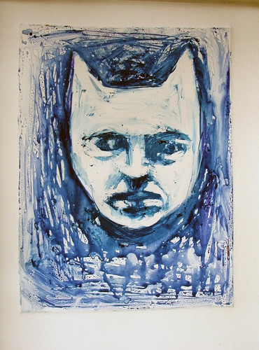 Monotype demo prints-waterbased inks, additive