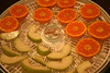 Japanese orange and D'anjou pear in the Dehydrator
