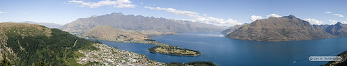 Panorama from Skyline in Queenstown