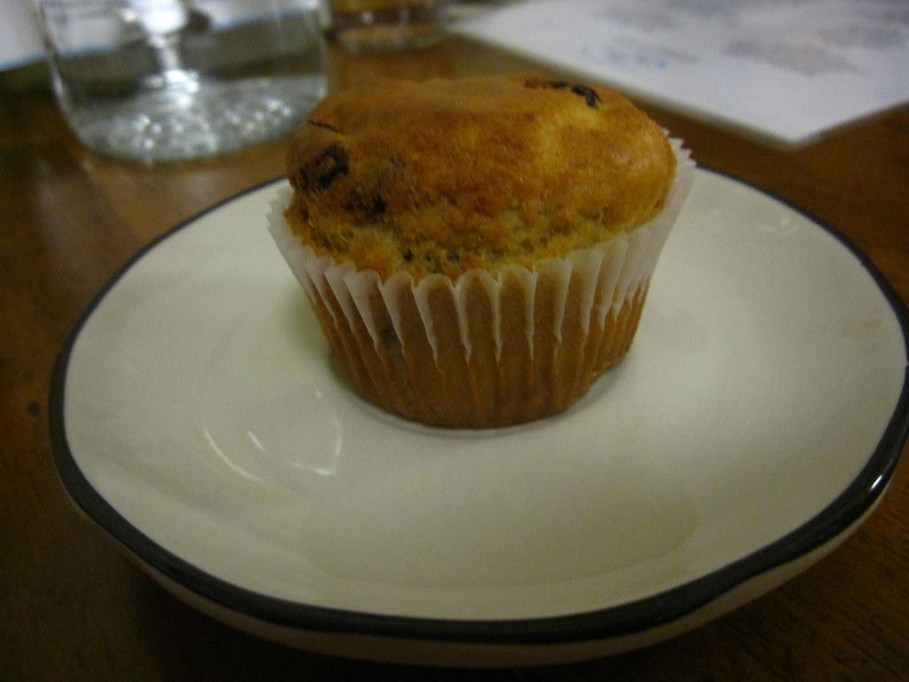 Cherry Walnut Muffin