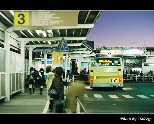 Bus Station @ 戸塚