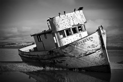 Point Reyes Boat 2 (karith) Tags: california canon boat shipwreck beached pointreyes aging stranded inverness karith