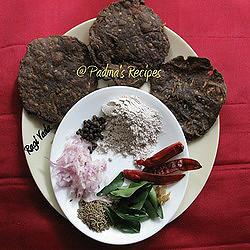 Padma's Ragi Vada