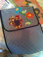 Porta travessa (Dipano Ateli) Tags: de galinha pano patchwork prato cozinha jogos tecido aplicao apliqu dipano